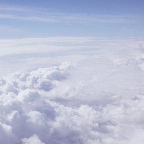 View of Clouds from the Air