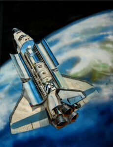 Space shuttle 穿梭機