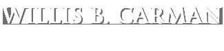 Willis B. Carman Logo
