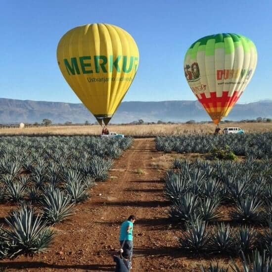 Hot Air Balloon in Tequila Jalisco Mexico