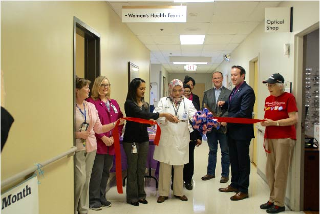 Ernest Childer's VA Outpatient Clinic Newly Redesigned Women Veterans Clinic