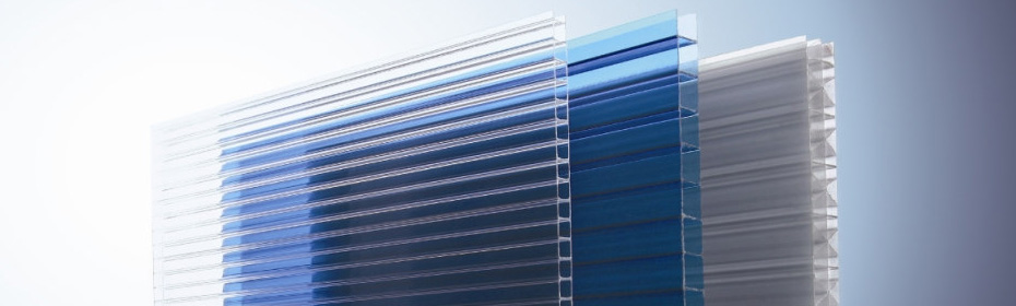 A stock polycarbonate sheets ready to ship to Miami and Fort Lauderdale, FL