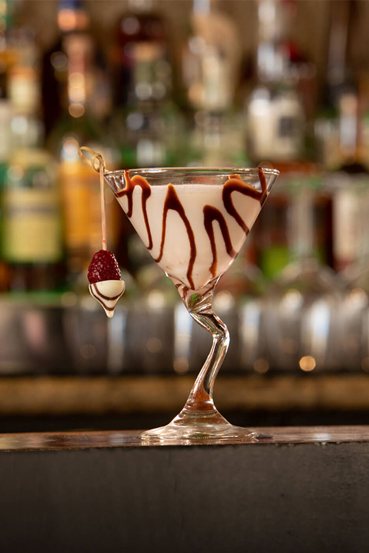 chocolate kiss specialty cocktail