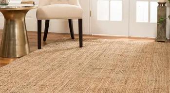 area rug types - sisal and jute rugs