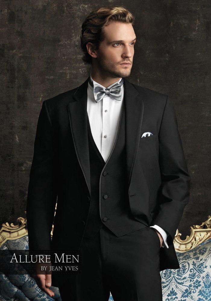 Allure Men Black Bartlett Tuxedo