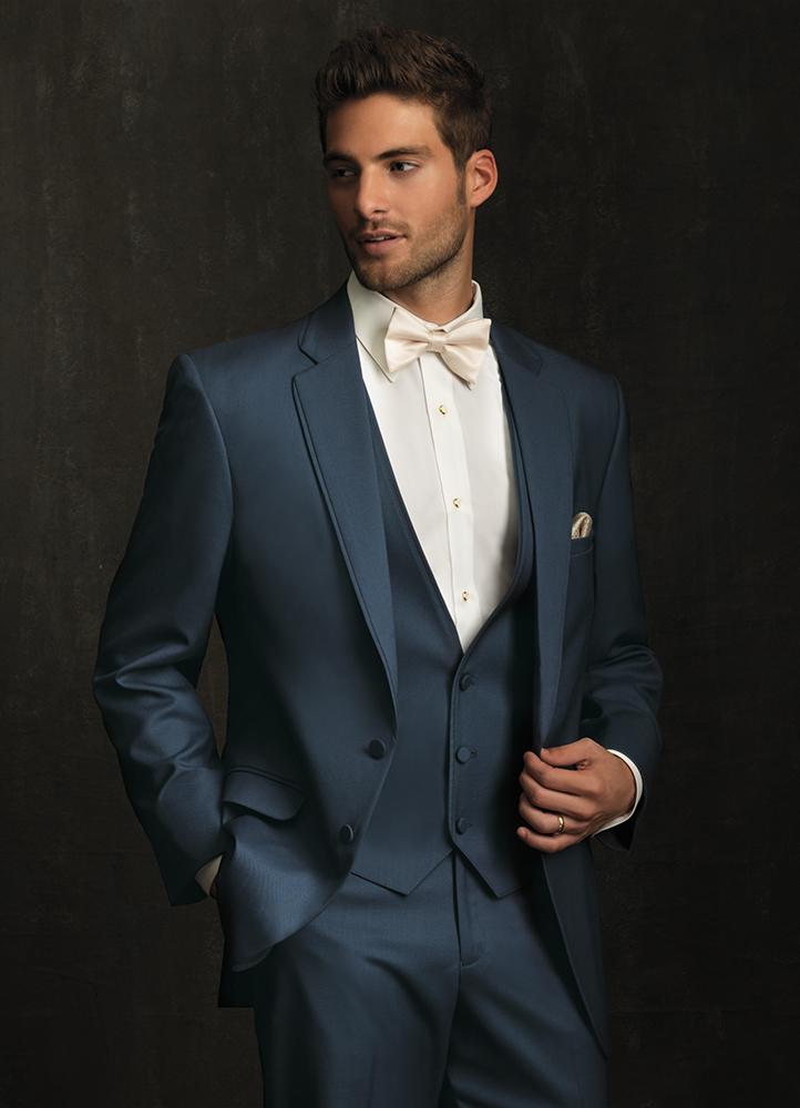 Allure Men Slate Blue Bartlett Tuxedo