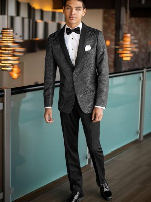Granite Paisley Aries Mark of Distinction Tuxedo