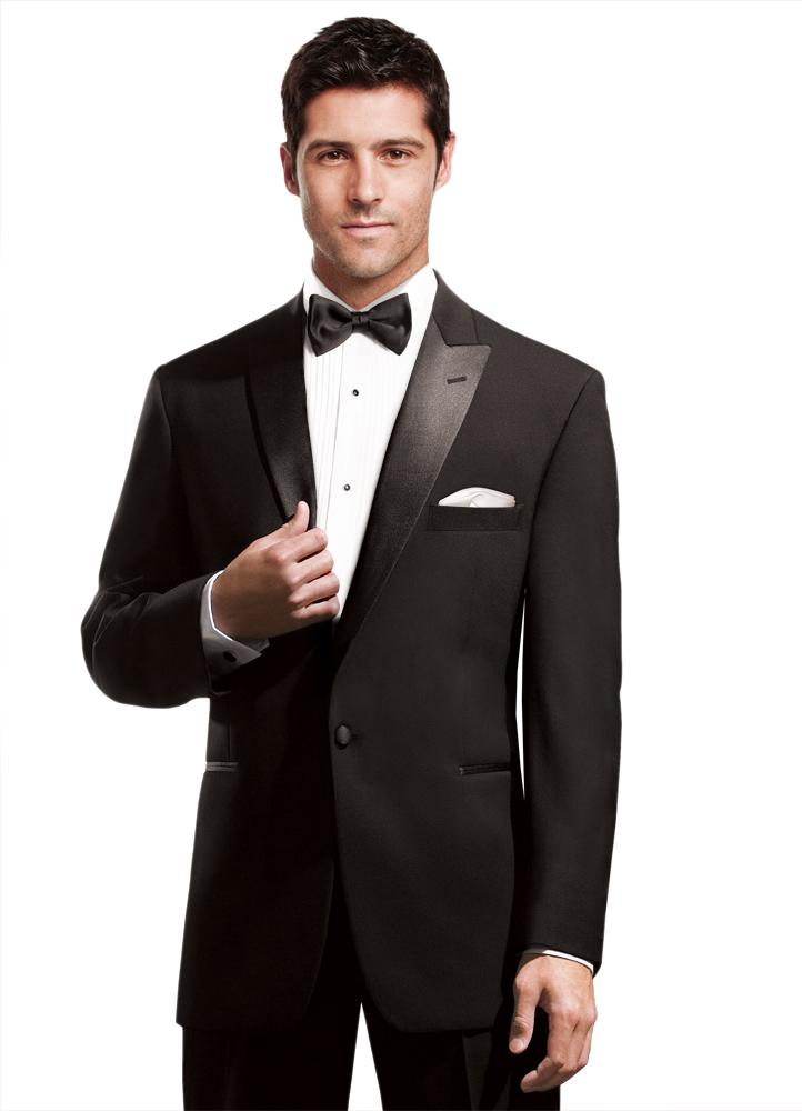 Classic Peak Lapel Tuxedo Rental