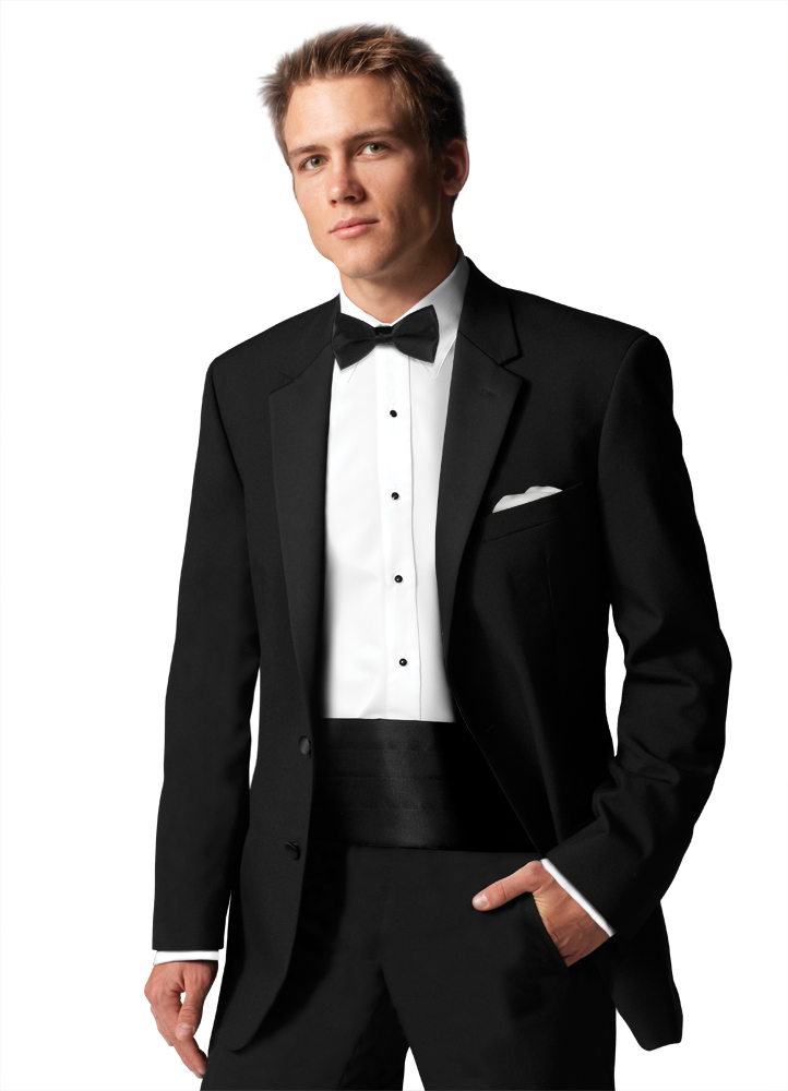 Classic Notch Lapel Tuxedo Rental