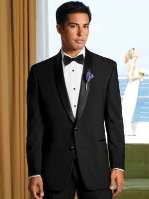 Single Breasted Shawl Tuxedo Rental