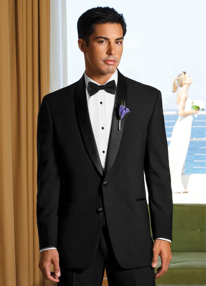 Single Breasted Shawl Tuxedo Rental