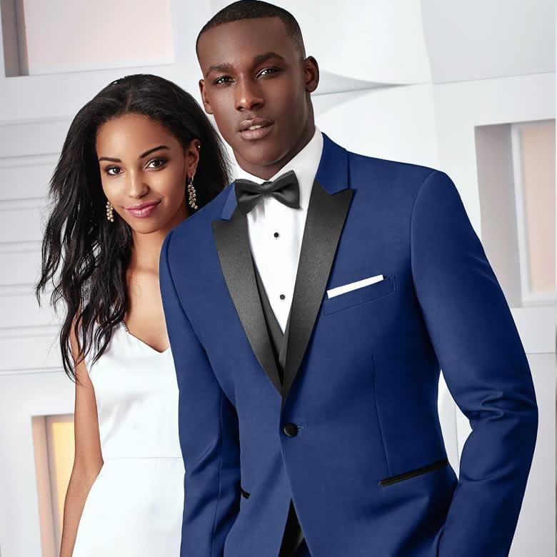 Blue Tribeca Tuxedo
