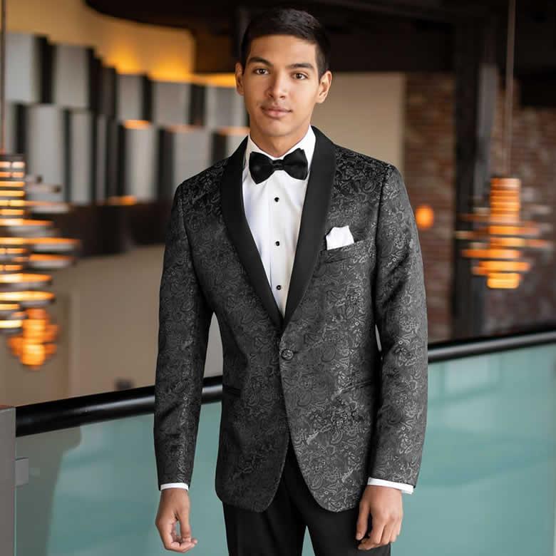 Granite Paisley Tuxedo