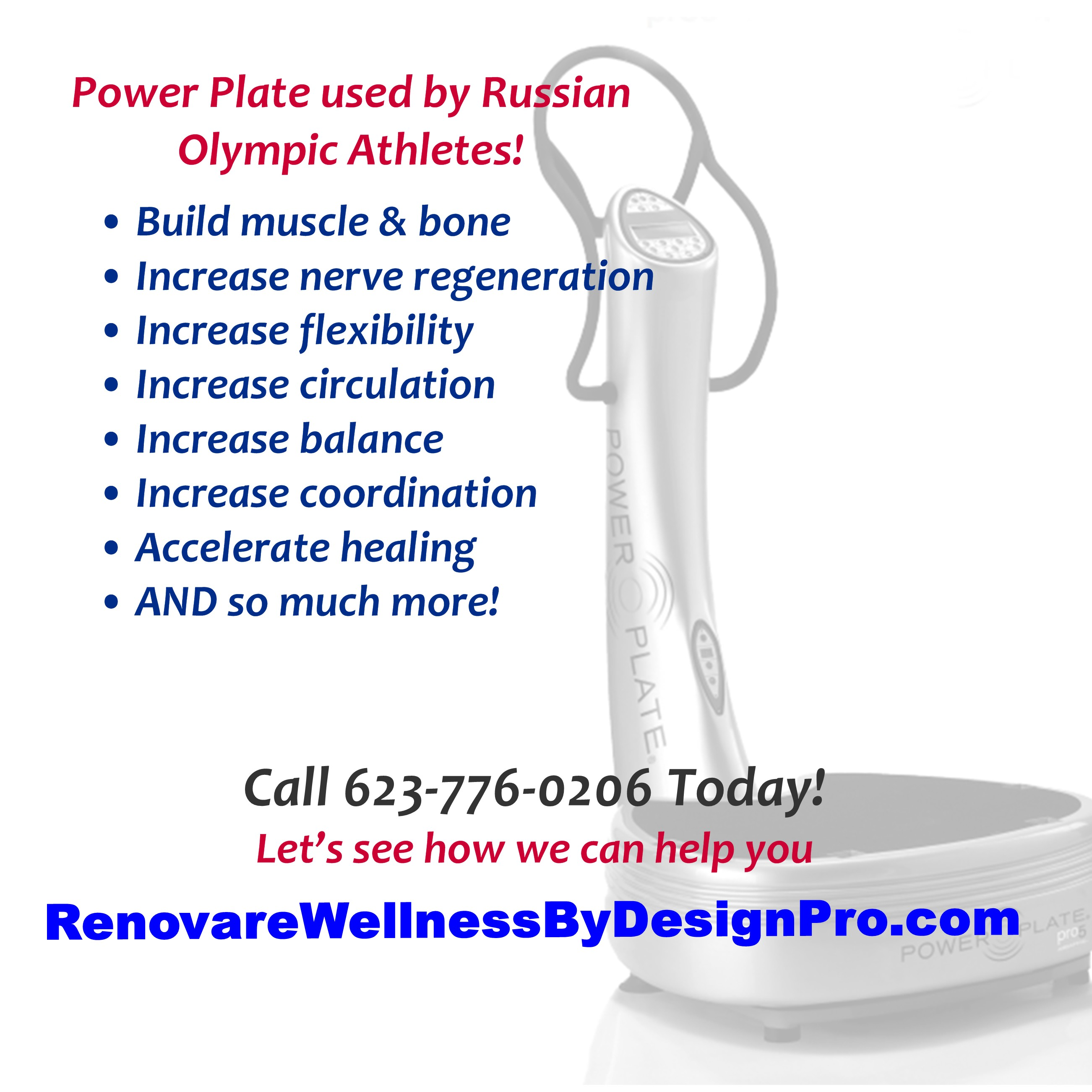 Benefits of PowerPlate Acceleration Therapy