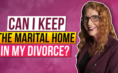 What Should I know about my options for the Marital Home During My Divorce?