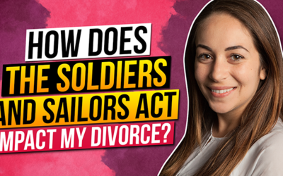 How does the Soldiers and Sailors Act impact my divorce?