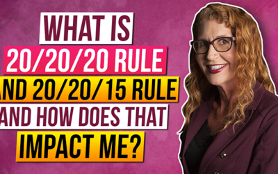 What do I need to know about the 20 20 20 rule and the 20 20 15 rule in my Military Divorce?