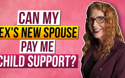 Can my Ex's new spouse pay me Child Support?
