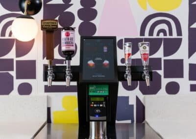Kombucha and coffee on tap