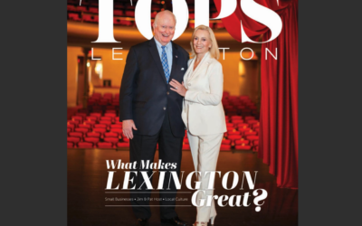 Pat & Jim Host  Featured in TOPS in Lex, August 2020 Issue