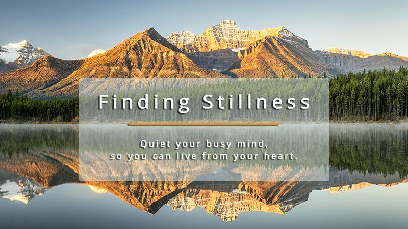 Finding Stillness Course