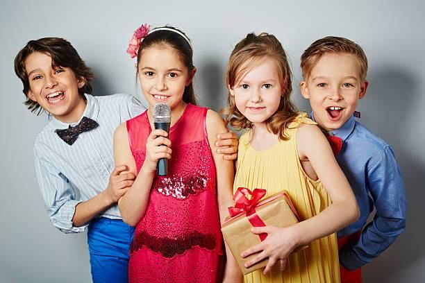 kids birthday party karaoke