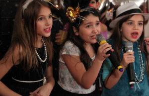 karaoke for childrens party