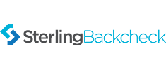 background checked through sterling