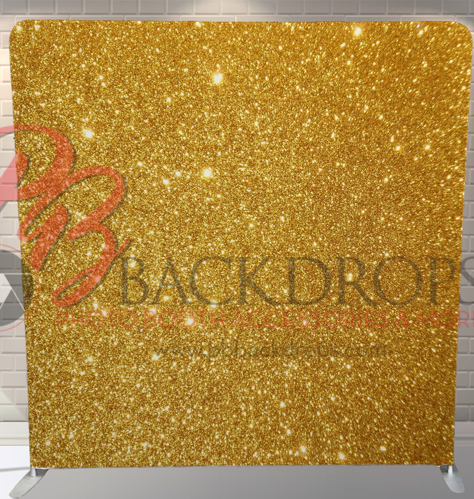 Gold Sparkle Backdrop