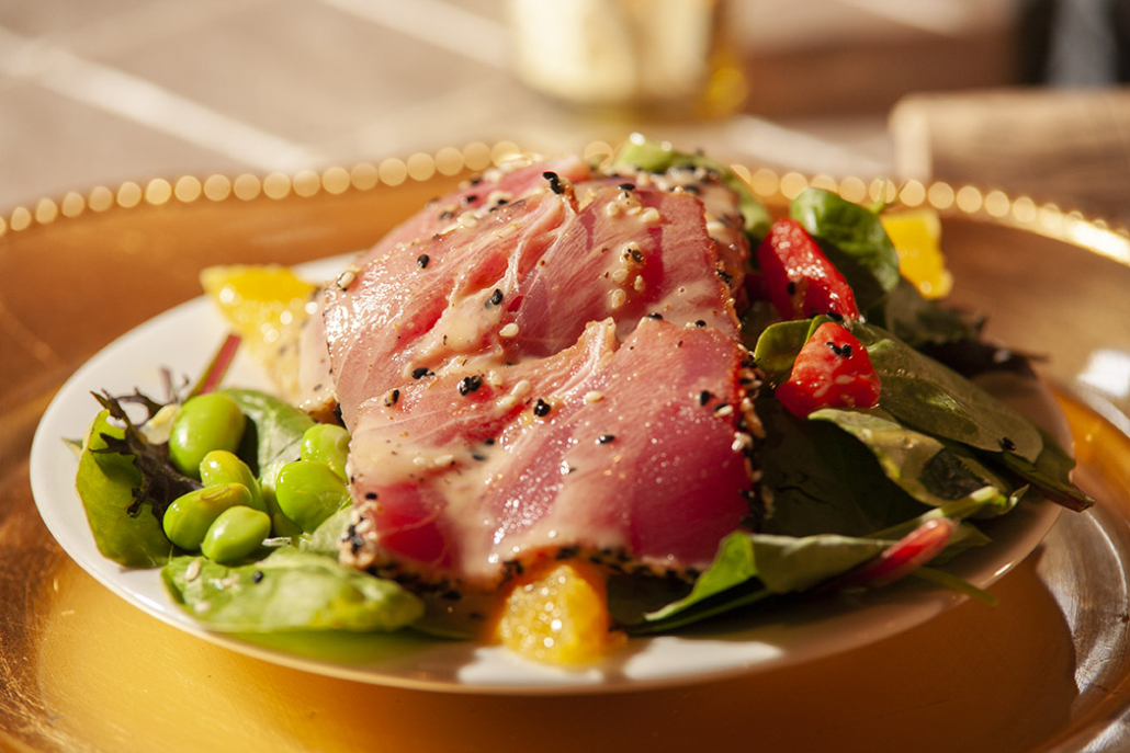 Seared Ahi Tuna Salad by Toulouse Gourmet Catering