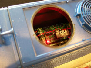 USA SD 70 RailLinx 10 fan access