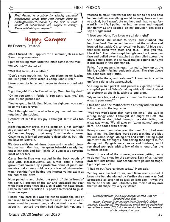 Happy Camper Article