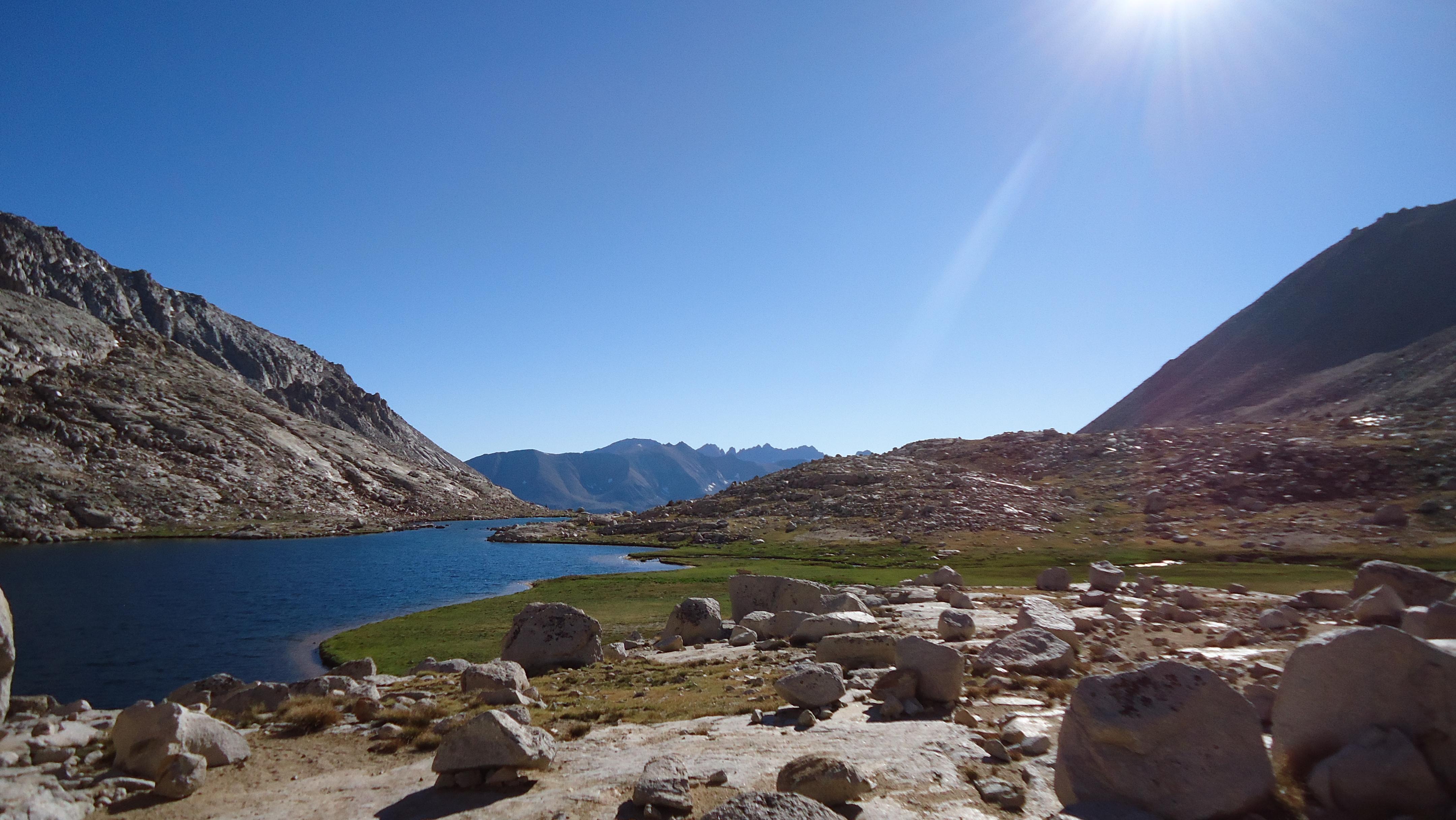 Guitar Lake and pending Alpenglow!