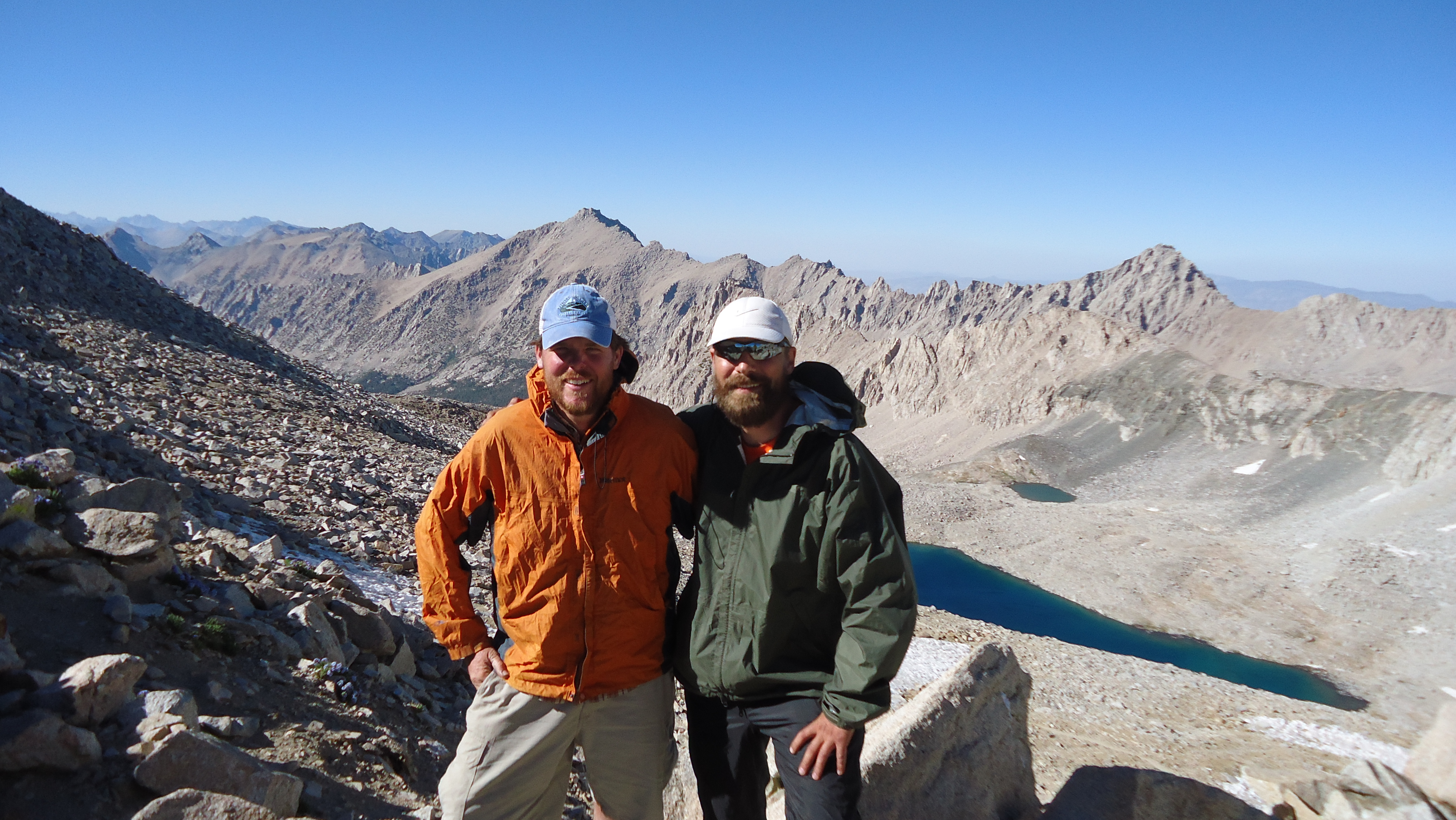 Me and Jake on Forester Pass