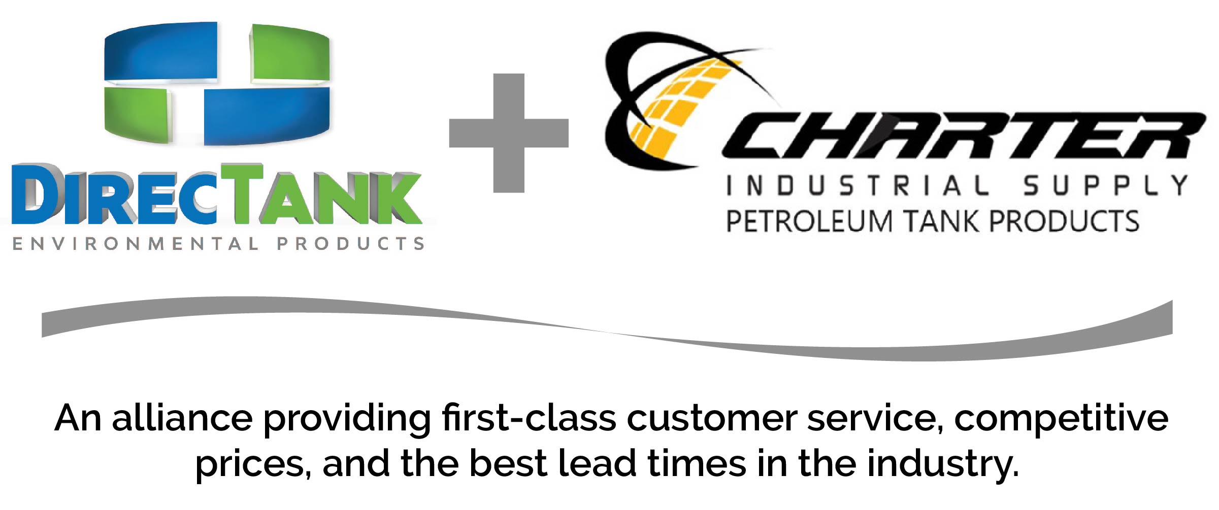 DirecTank Environmental Products, LLC and Charter Industrial Supply, LLC Alliance