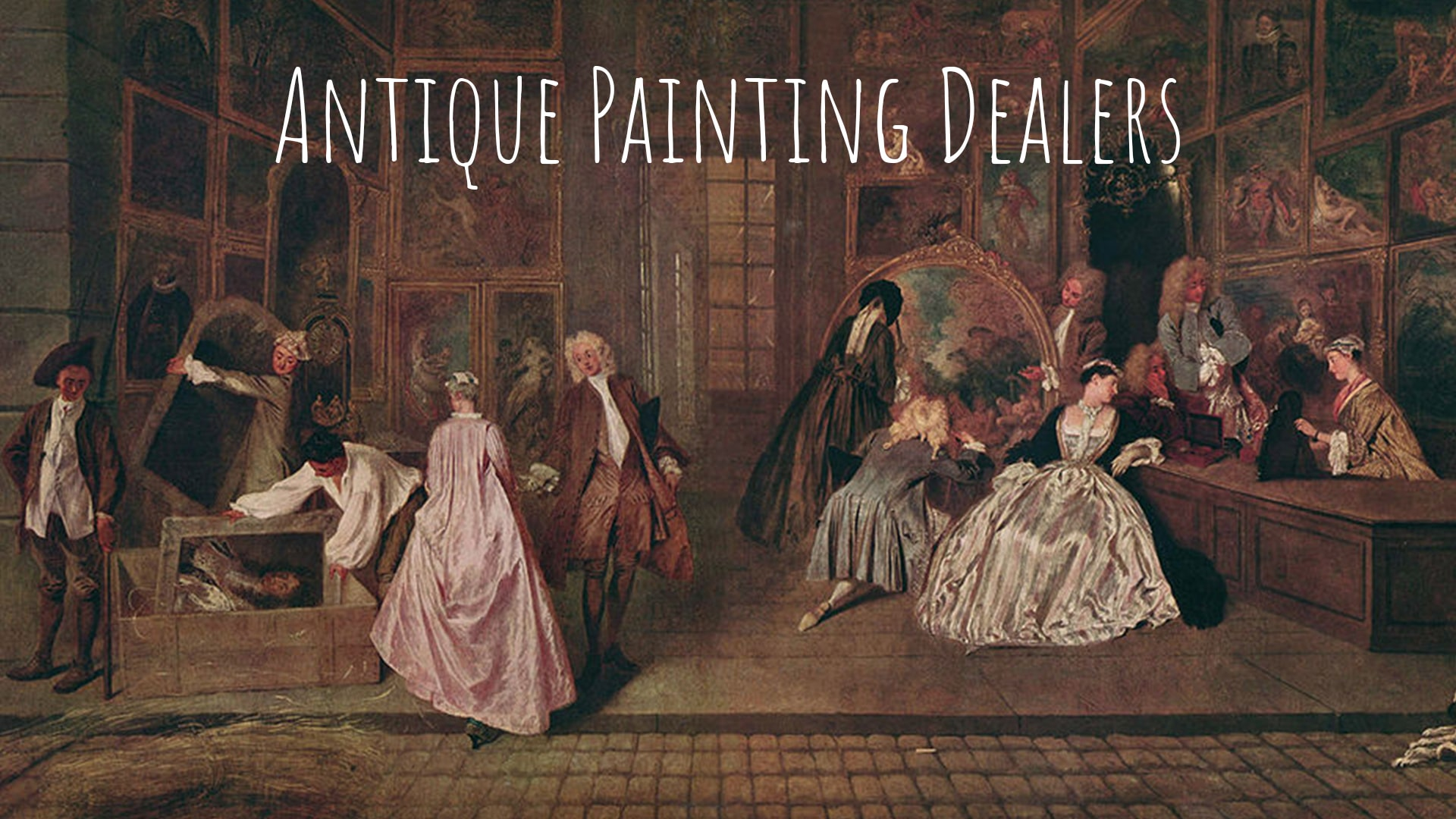 Antique Painting Dealers-AAB