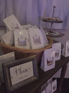 favors wedding reception new orleans the cannery