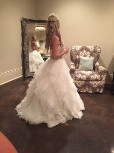 the cannery wedding reception bride photo