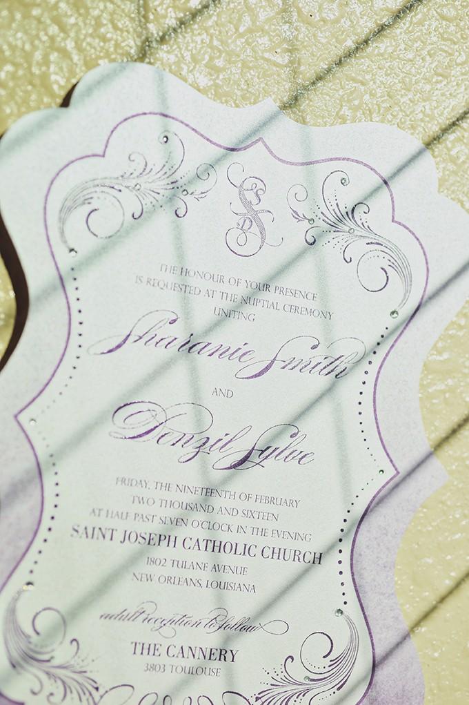 new orleans wedding invites