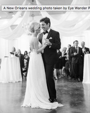 new orleans wedding story dance