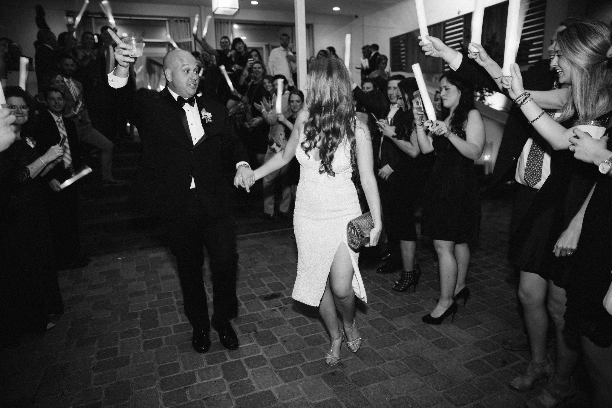 new orleans wedding exit