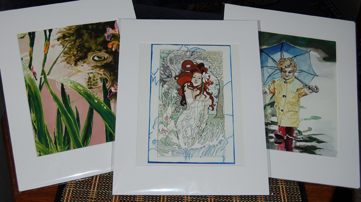 Art by Shannon Morgan - 8x10 prints with 11x14 mat
