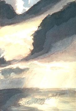 020 Skyscape #3 - Storm's Break