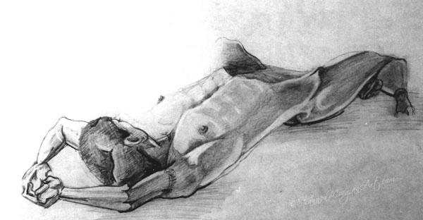 109 Nude Supine
