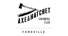 Toronto Salons Partner Axe and Hatchet
