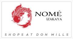 Nome Izakaya Shops at Don Mills