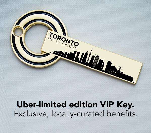 Toronto Key To The City