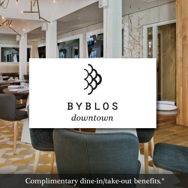 Byblos Downtown Toronto Restaurant
