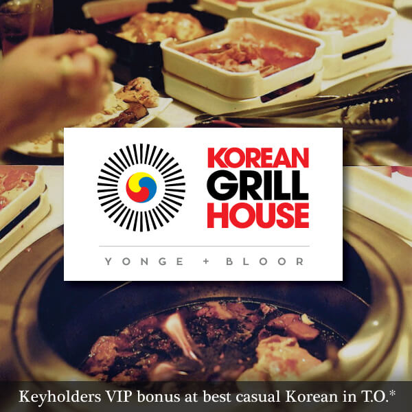 Korean Grill House at Yonge and Bloor