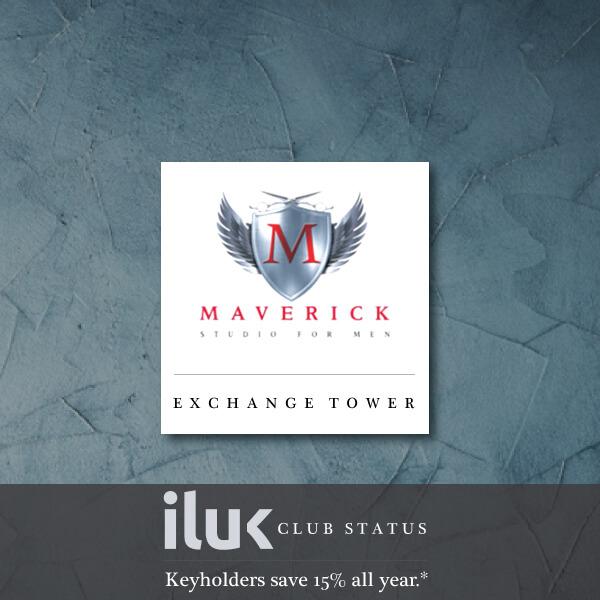 Maverick Studio For Men at The Exchange Tower